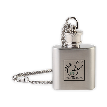 Flask Necklace - Ghostly Positioning & Possession Service